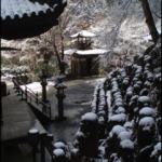 Otagi Nenbutsu-ji temple(winter)